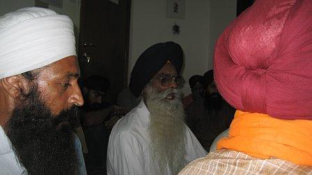 Bhai Amritpal Singh Ji and Bhi Svaran Singh ji
